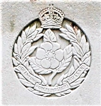 Capbadge of the Worcestershire Yeomanry (Queens Own Worcestershire Hussars)