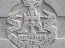 Capbadge of the Yorkshire Regiment
