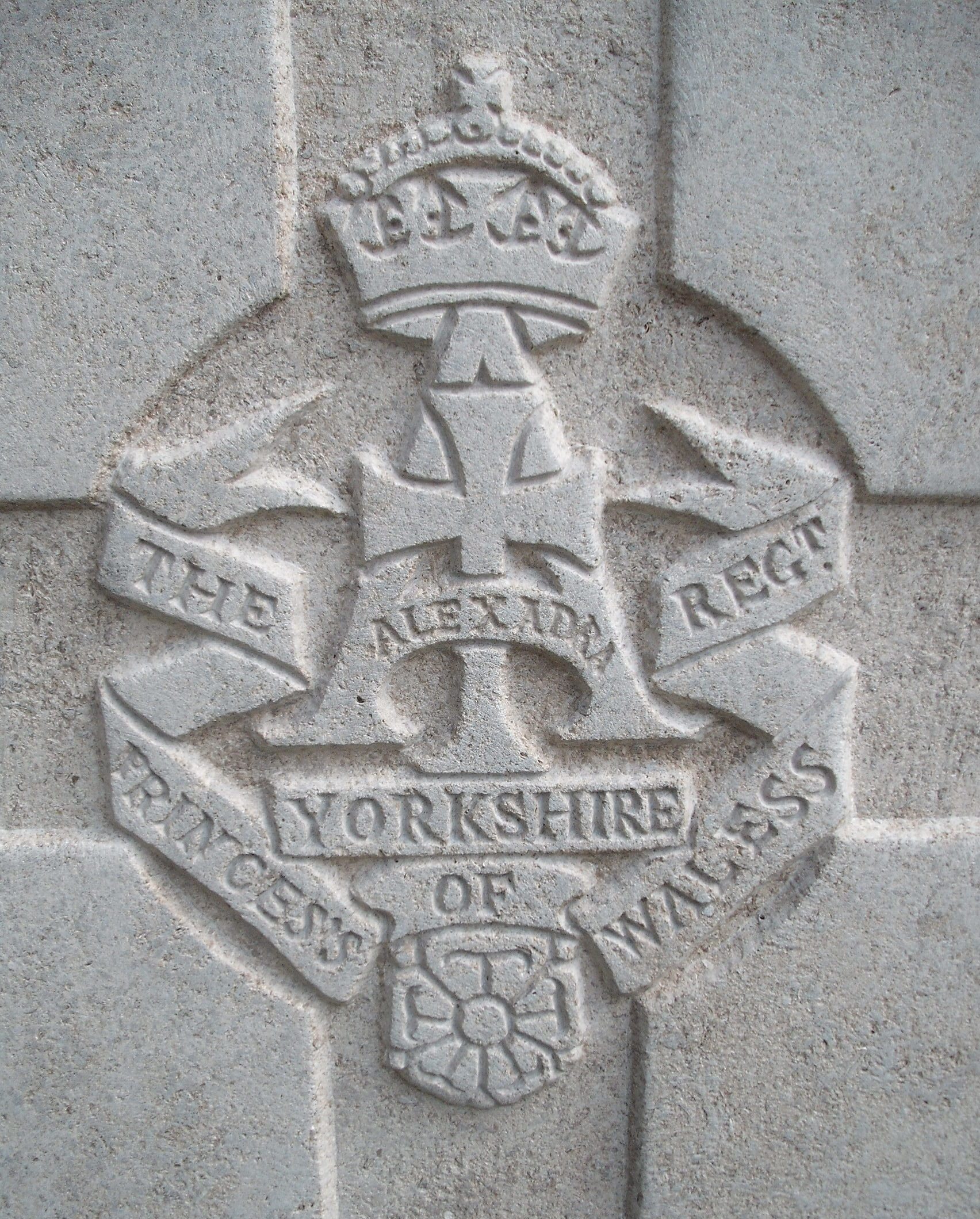 Capbadge of the Yorkshire Regiment