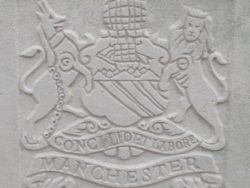 Capbadge of the Manchester Regiment