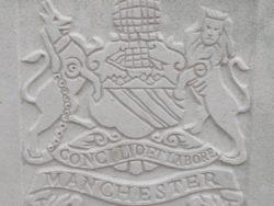 Capbadge of the Manchester Regiment
